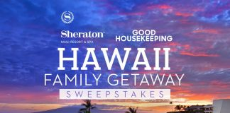 Good Housekeeping Hawaii Family Getaway Sweepstakes