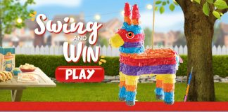 Mission Pinata Instant Win Game
