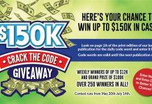 $150K Giveaway