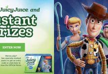 Juicy Juice Instant Win Game