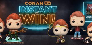 TBS Conan Funko Pop Instant Win Giveaway 2020