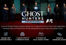 Ghost Hunters Sweepstakes