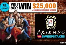 Friends25 Sweepstakes