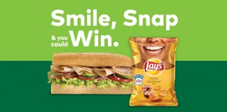 Subway Lay's Smiles Sweepstakes (SubwaySmiles.com)