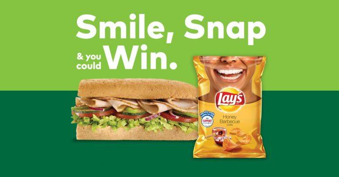 Subway Lay's Smiles Sweepstakes (SubwaySmiles.com)