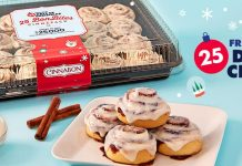 Cinnabon 25 Days of Christmas Sweepstakes