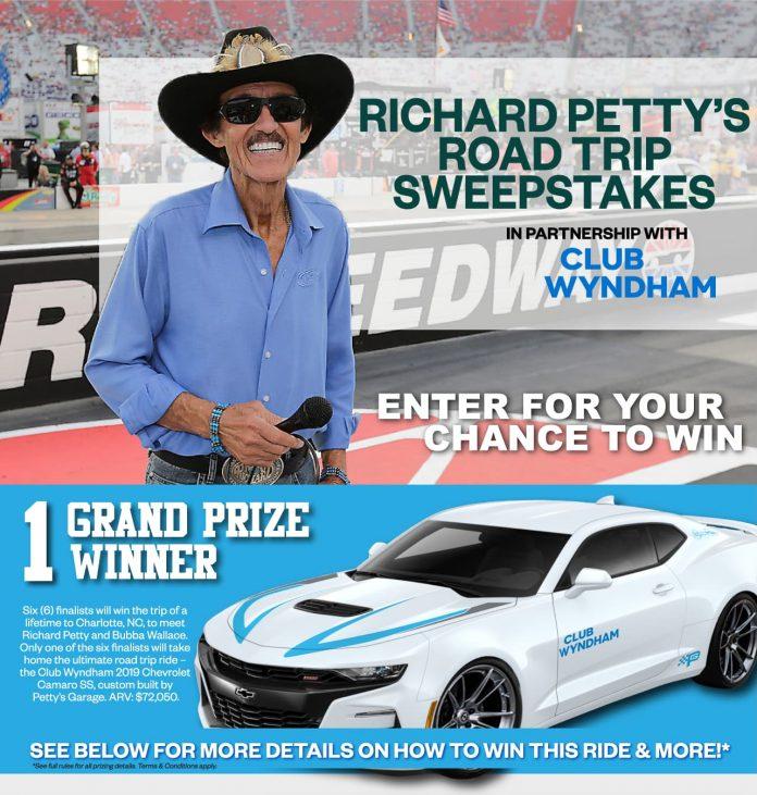 Richard Petty Road Trip Sweepstakes