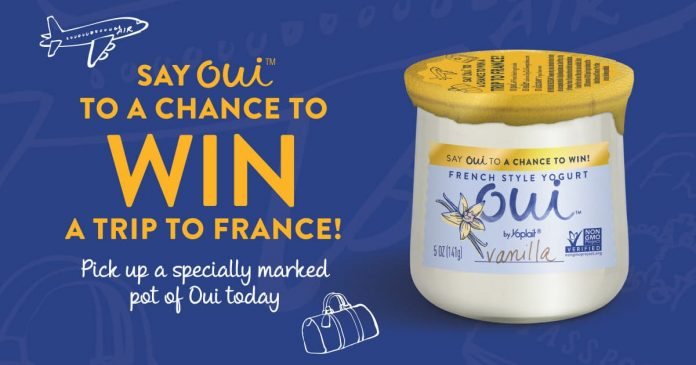 Say Oui Sweepstakes