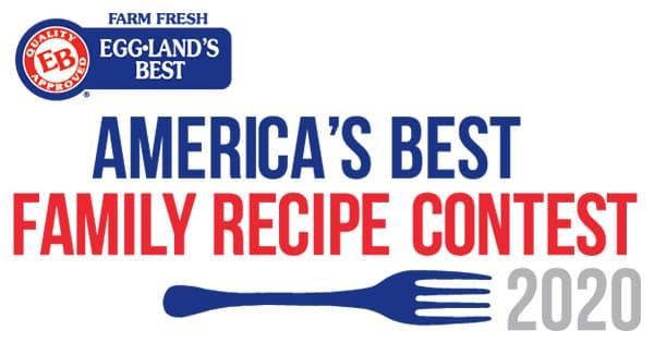 Eggland Best Eggs America's Best Recipe Contest 2020