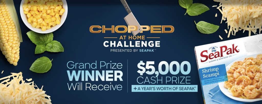 Food Network Chopped at Home Challenge 2020