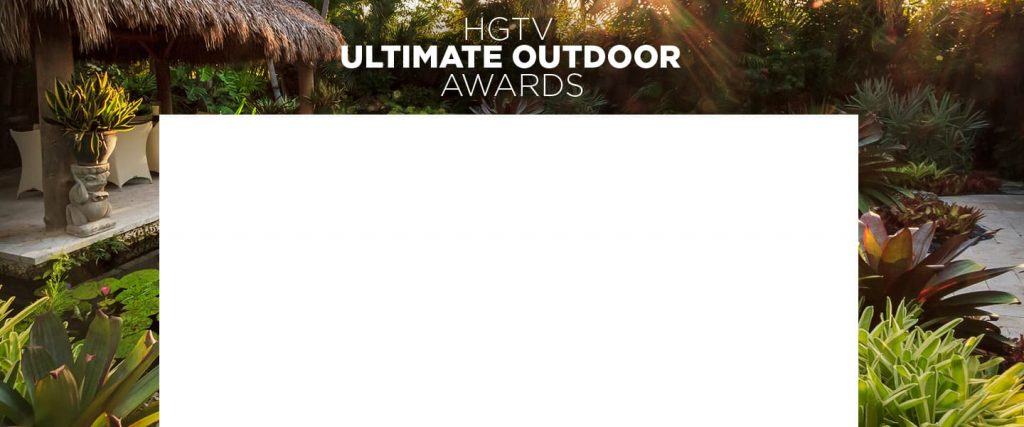 HGTV Ultimate Outdoor Awards Giveaway 2020