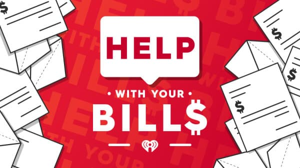 iHeartRadio Help With Your Bills Contest 2020