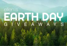 Ellen Earth Day Giveaway 2021