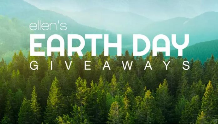Ellen Earth Day Giveaway 2020
