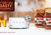 Nutella Stay Toasty Competition 2020