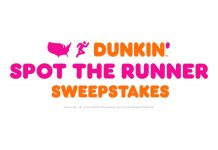 America's Got Talent Dunkin Spot The Runner Sweepstakes 2020