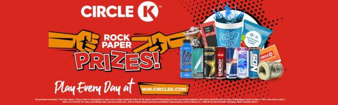Circle K Rock Paper Prizes Game 2021