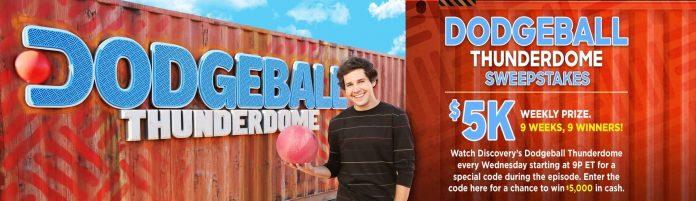 Dodgeball Thunderdome Sweepstakes