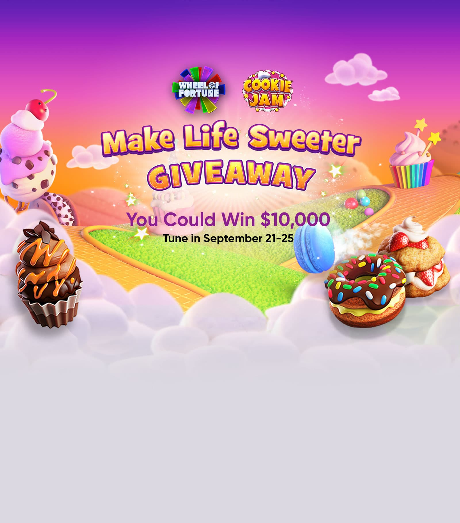 Wheel of Fortune Make Life Sweeter Giveaway 2020 - Winzily