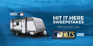 Camping World MLB NLCS Hit It Here Sweepstakes 2020