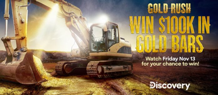 Gold Rush Sweepstakes Code