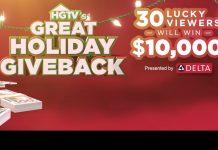 HGTV Great Holiday Giveback Sweepstakes 2020