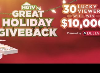 HGTV Great Holiday Giveback Sweepstakes 2020