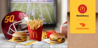 McDonalds McDelivery 50 Burger Sweepstakes 2020