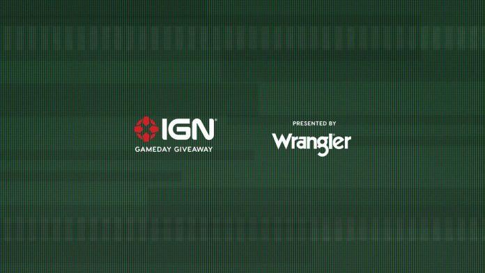 Wrangler IGN Gameday Giveaway 2020