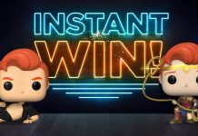 Team Coco Conan Funko Pop Instant Win Giveaway 2020
