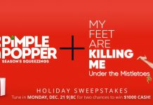 TLC Dr. Pimple Popper Season's Squeezings + My Feet Are Killing Me Holiday Sweepstakes 2020