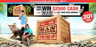 Two And A Half Men This End Up Sweepstakes 2021