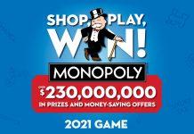 Safeway Monopoly 2021