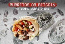 Chipotle Burritos or Bitcoin (National Burrito Day 2021)
