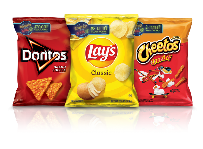 Lays And Doritos Crunch Your Luck Sweepstakes 2021