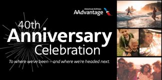AAdvantage 40th Anniversary Celebration Sweepstakes 2021