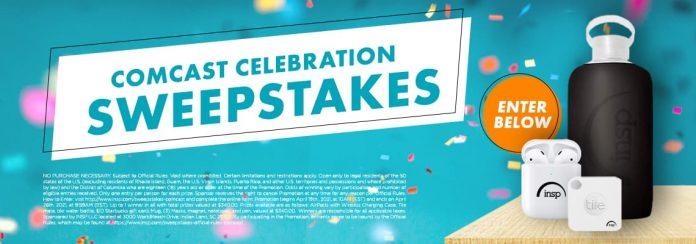 INSP Comcast Celebration Sweepstakes 2021