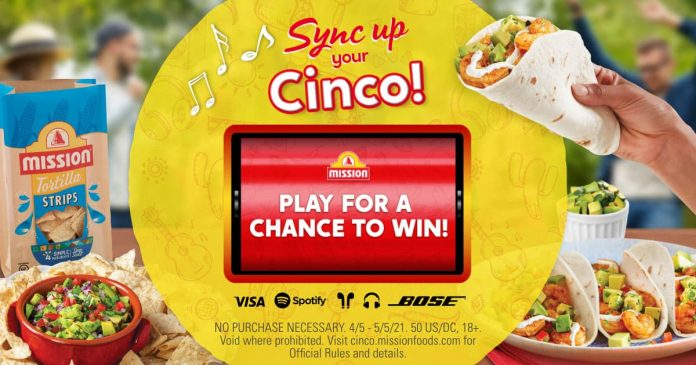 Mission Sync Your Cinco Game 2021