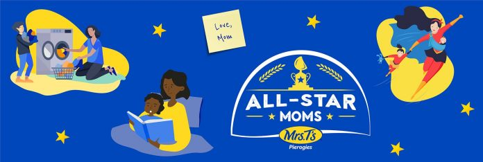 Mrs. T's Pierogies All-Star Moms Sweepstakes 2021