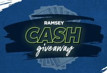 Ramsey Cash Giveaway 2021