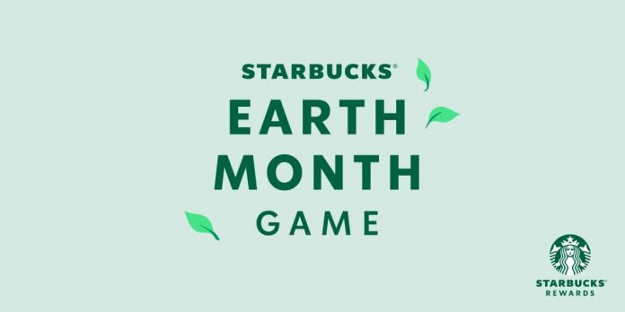 Starbucks Earth Month Instant Win Game 2021