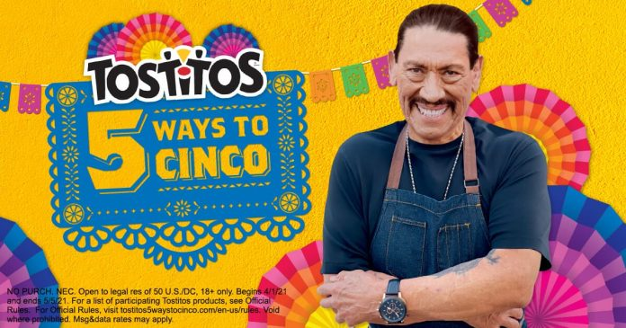 Tostitos 5 Ways To Cinco Sweepstakes 2021