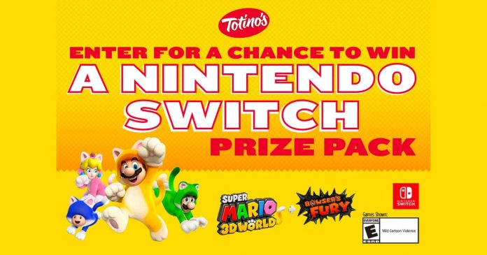 Totino's Nintendo Switch Giveaway 2021