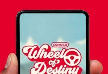 Conoco Wheel Of Destiny Instant Win Game 2021