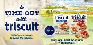 Time Out With Triscuit Sweepstakes 2021