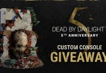 Dead by Daylight Custom PS5 Giveaway 2021