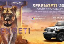 Discovery Channel Serengeti II Sweepstakes 2021