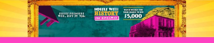 HGTV Houses With History $5K Giveaway 2021